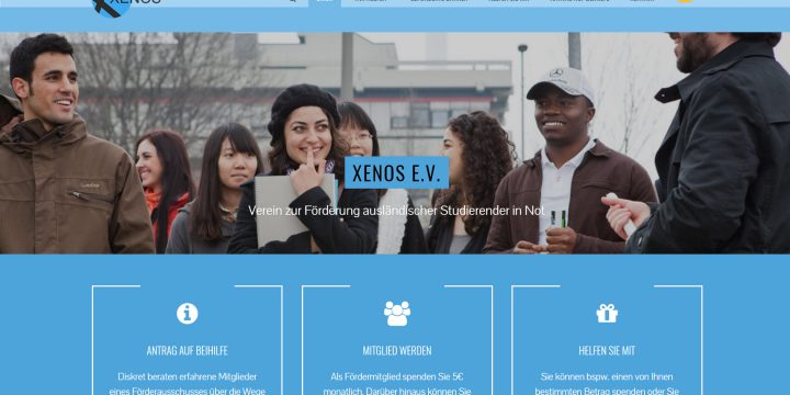 XENOS with new website